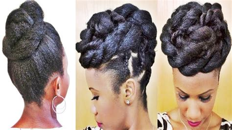 Braids Updo Hairstyles For Black by 2018 Popular Updos For Black Hair