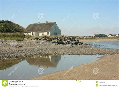 Cottages By The Sea by Thatched Cottage By The Sea Stock Image Image 15678315