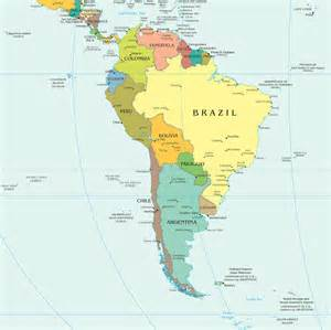 political map south america south america political map political map of south america
