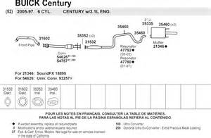 2003 Buick Century Exhaust System Diagram Discountautoparts Best Prices Best Service