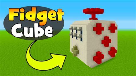 fidget house minecraft tutorial how to make a fidget cube house