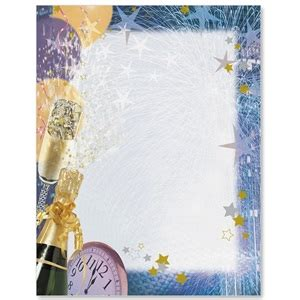 new year border paper happy new year border papers paperdirect s