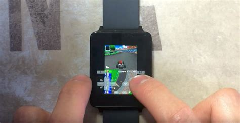 ds emulator android nintendo ds emulator running on android wear smartwatch