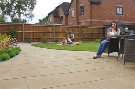 Texture Tiles by Perfecta Smooth Garden Paving Marshalls Co Uk