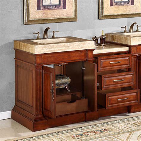 51 Bathroom Vanity by Silkroad Exclusive 51 Inch Hyp 0219 T Vt Bathroom Vanity