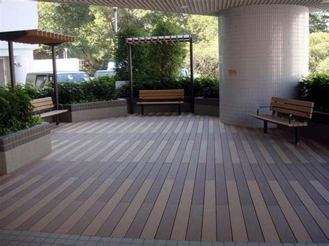 Outdoor Deck Flooring by Waterproof Outdoor Deck Floor Covering Wpc Board For Swimming Pool Buy Hollow Composite