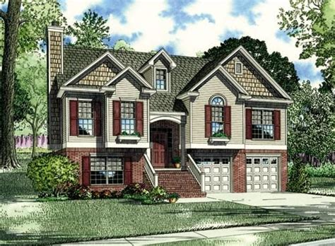 split entry house plans split foyer home plans find house plans
