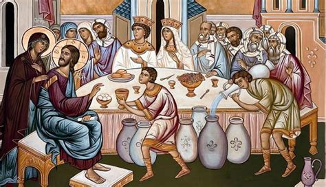 Wedding At Cana Gospel Reading by The Wedding In Cana As An Icon Of The Marriage Between God