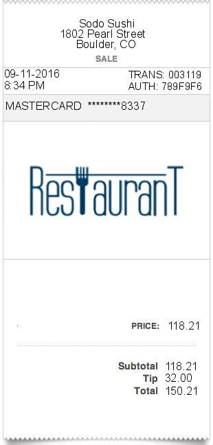 bar receipt template restaurant receipt expressexpense custom receipt maker