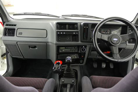 Ford Rs Cosworth Interior by Featured Cars Ford 1987 Ford Rs