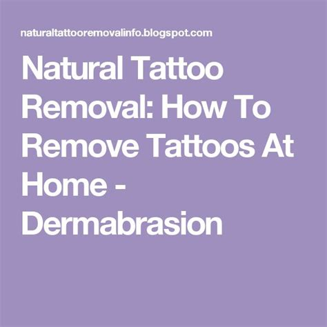 how to remove a tattoo at home with salt removal how to remove tattoos at home