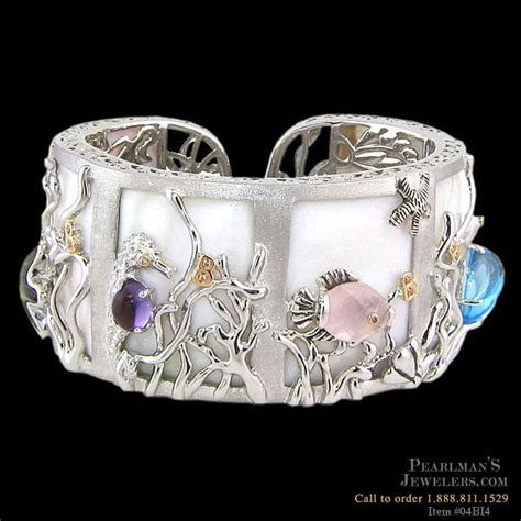 bellarri jewelry sea of pearl bangle bracelet