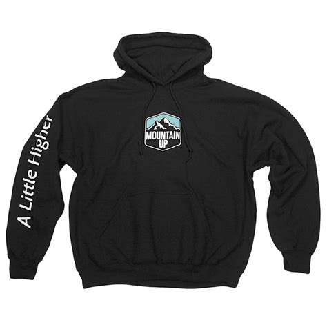 Hoodie Give Up 1 mountain up m1 hoodie mountain up