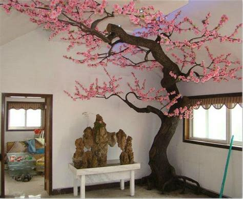 diy make tree light indoors artificial blossom tree decoration outdoor and indoor sj201404007 shengjie china