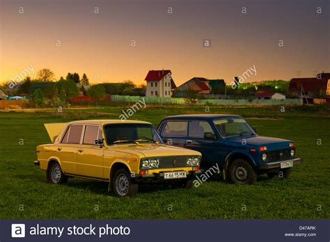 Russian Cars Lada Soviet And Russian Cars Lada Niva 4x4 Vaz 2121 And Lada