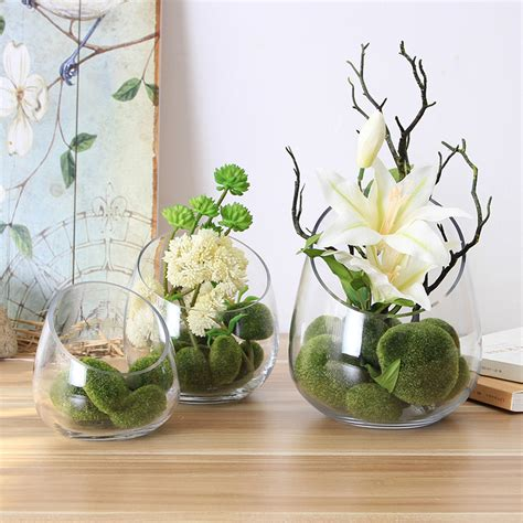 Flower Vase Decoration Home The Living Room Decoration Flower Vase Creative Oblique Table Decoration Vase Plants Zakka Home