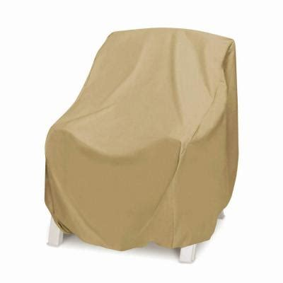 two dogs designs khaki oversized patio chair cover 2d