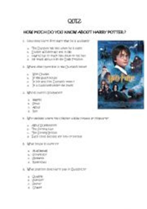 printable quiz harry potter pin potter printable questions and answers trelleborgs