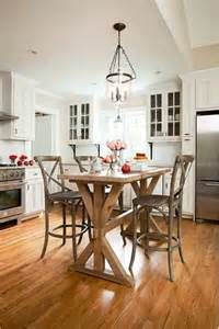counter height kitchen island dining table cozy transitional kitchen with counter height table instead of island kitchens