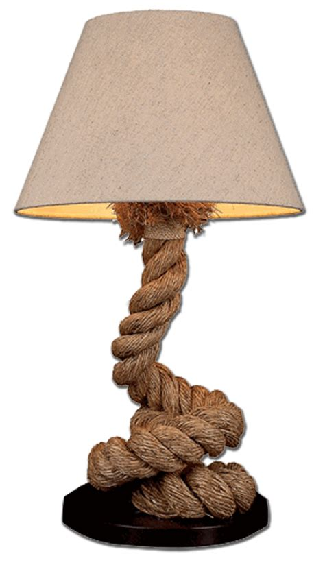 Bedside Floor Lamp pier quot coiled quot rope lamp