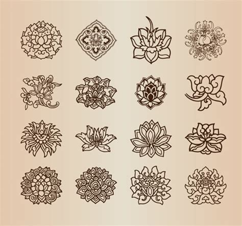 flower pattern names name vintage floral vector art male models picture