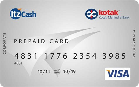 Visa Rechargeable Gift Card - kotak itzcash prepaid card