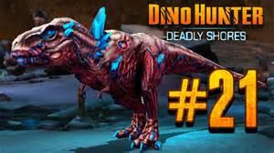 Zombie dino hunter deadly shores ep 21 zombie boss rash youtube