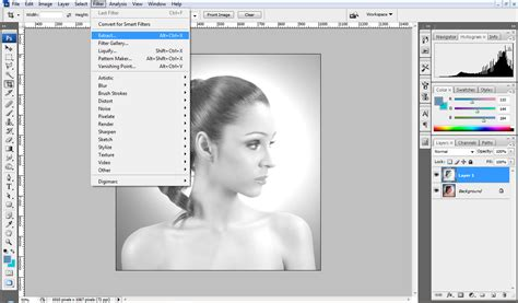 photoshop cs3 refine edge tutorial extract hair photoshop cs4 tutorial change hair color