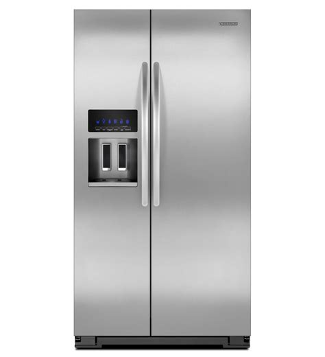 Kitchenaid Architect Series Ii by Kitchenaid 174 26 Cu Ft Standard Depth Side By Side Refrigerator Architect 174 Series Ii