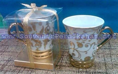 Teh Gelas Per Kotak souvenir gelas keramik cantik souvenir pernikahan