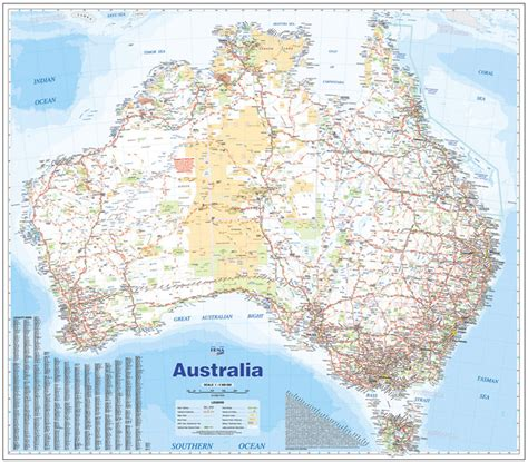 driving map of australia australia large hema laminated maps books travel