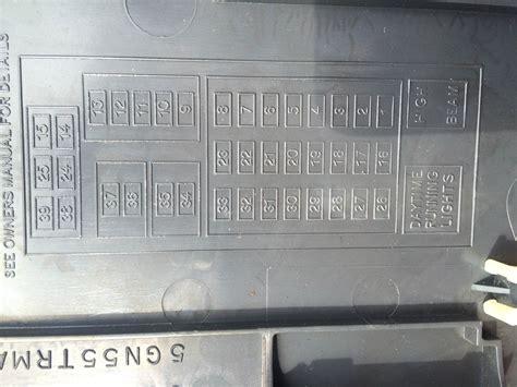 nissan fuse box diagram driver side wiring diagram