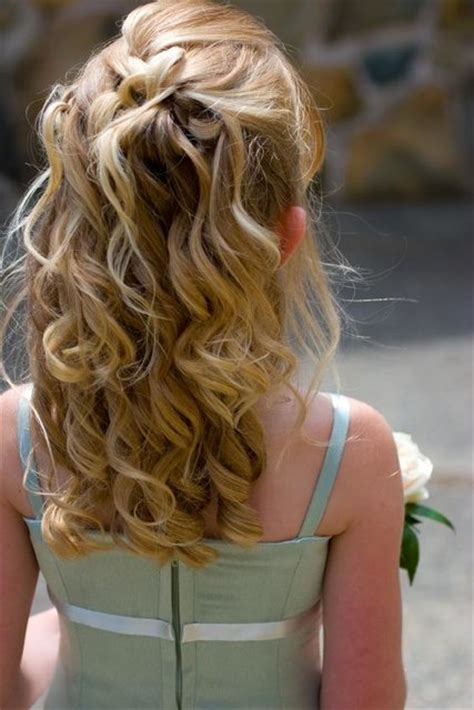 flower girl hairstyles half up half down best and super cute flower girl hairstyles you can try