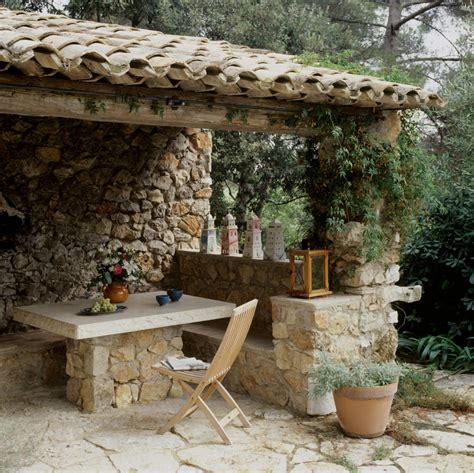garten balkonmöbel sitzecke aus naturstein roomido