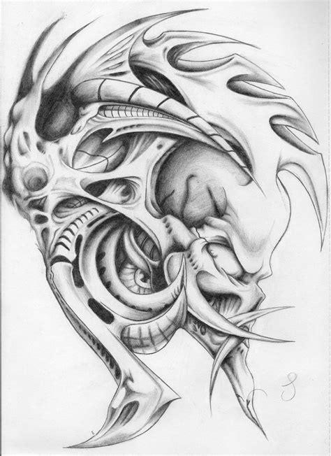 mechanic tattoo drawing pin biomechanical tattoo drawings tattoos on pinterest