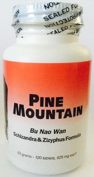 Ginseng Kianpi Bu Wan bu nao wan pine mountain