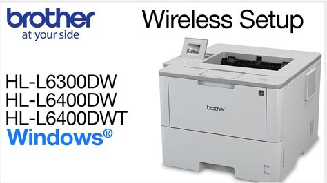 Printer Hl L6400dw Print Monochrome Wifi Diskon hll6300dw hll6400dw hll6400dwt wireless windows 174 installation