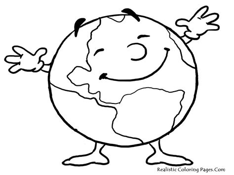 earth coloring page printable the earth to draw coloring pages
