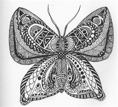 doodle pattern butterfly zentangle butterfly doodles patterns zentangles