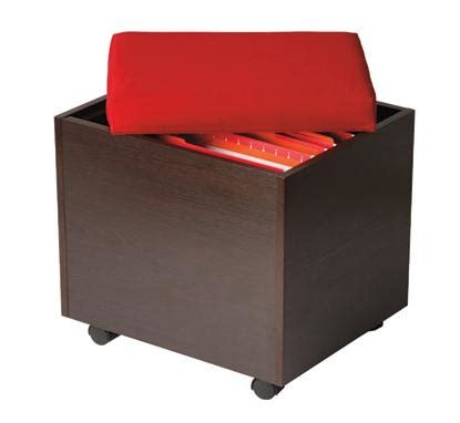 Ottoman Filing Cabinet Small Office Desk Solution For An Affordable 149