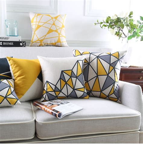 Bantal Sofa Yellow 40x40cm compare prices on grey pillows shopping buy low price grey pillows at
