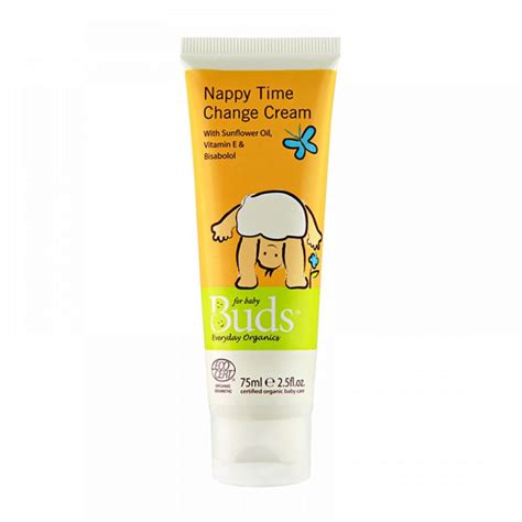 Buds Everday Baby 75ml buds everyday organics nappy time change with sunflower vitamin e bisabolol 75ml