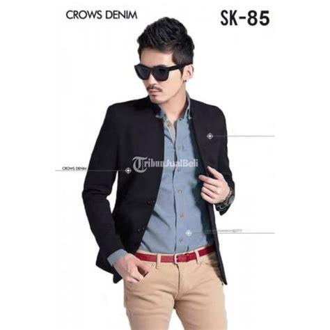 Jas Hitam Fit Blazer Sk 103 jual blazer pria slim fit slim fit blazer warna hitam
