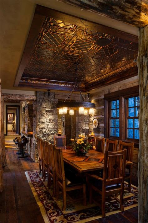 rustic dining room decorating ideas 24 totally inviting rustic dining room designs page 3 of 5