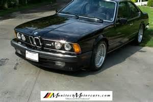 1988 Bmw M6 For Sale 1988 Bmw M6 Dinan With 76000 For Sale Bmw 635csi Bmw