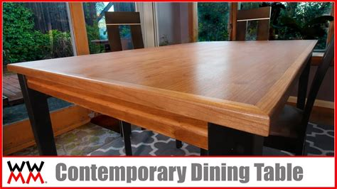 contemporary dining table diy furniture