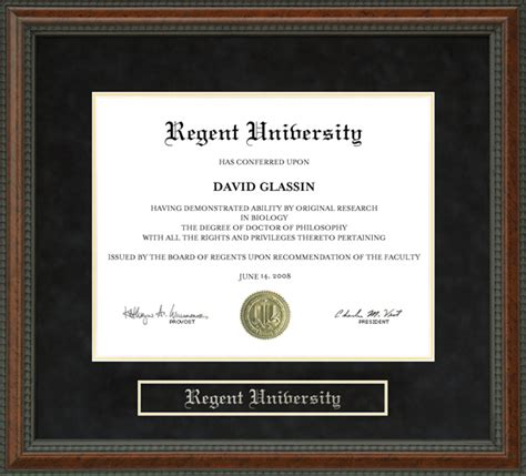 Georgetown Mba Diploma Frame by Regent Diploma Frame Wordyisms