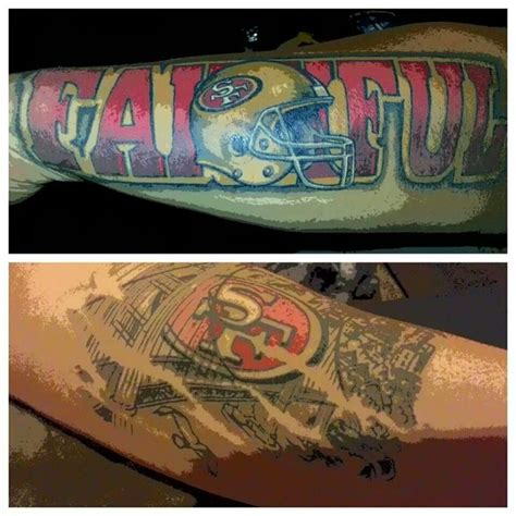 49ers tattoos designs 17 best images about tacas tattoos on