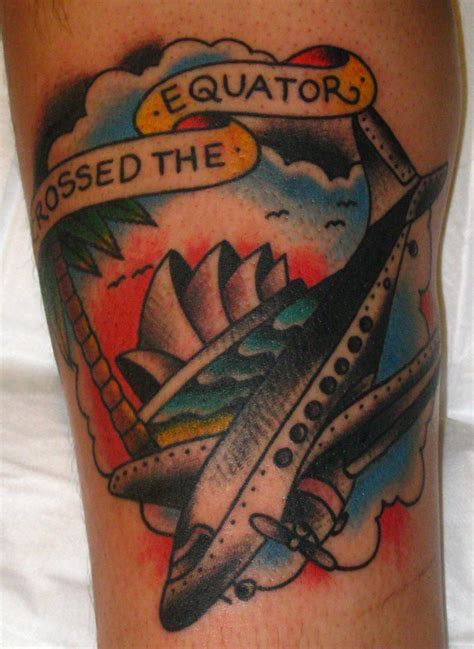 crossing the equator tattoo crossed the equator by xveganmafiax on deviantart