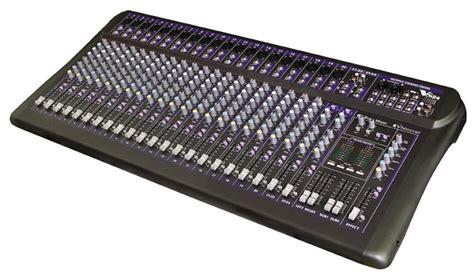 audio mixer console recording aux mixer